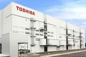 افزایش تولید محصولات توشیبا