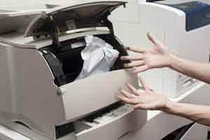 تعمیر کاغذ کش کپی توشیبا