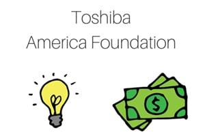 کمک مالی Toshiba America Foundation