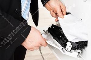 تعمیر کاغذ کش پرینتر توشیبا