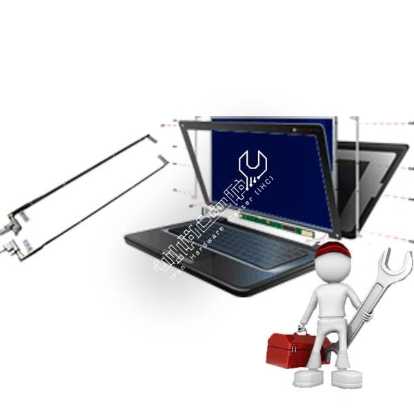 تعمیر لولای لپ تاپ توشیبا