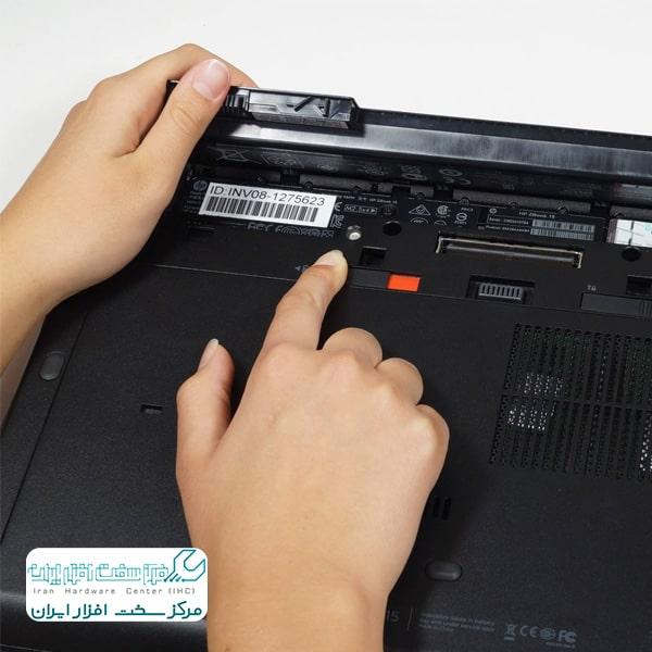 تعویض باتری بکاپ لپ تاپ توشیبا