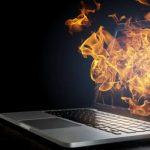 داغ شدن لپ تاپ توشیبا